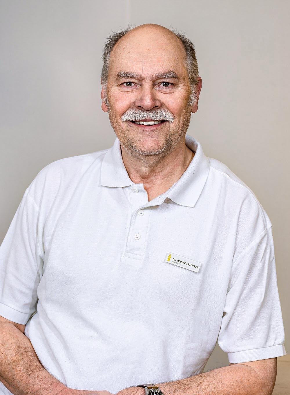 Dr. Klötzer Portrait